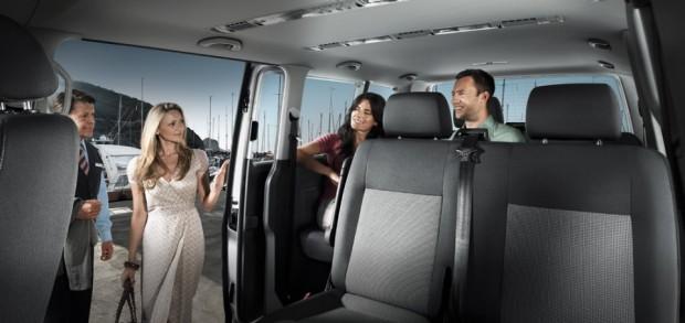 Pronajem mikrobus Volkswagen Caravelle