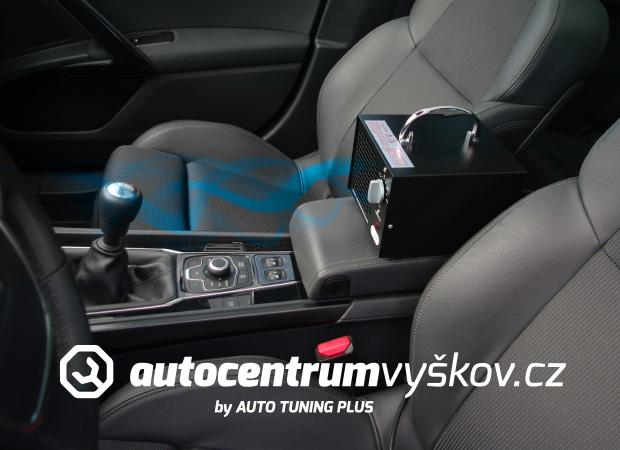 Čistění vozu ozonem klimatizace